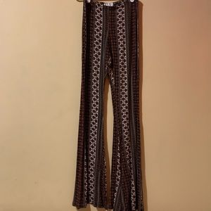 Full Tilt Patterned Stretchy Pants